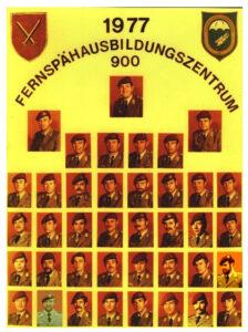 Fernspäh Training Center 900 (FAZ 900), which was stationed in Neuhausen ob Eck from 1973 to 1980.