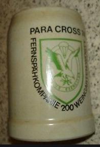 Para Cross 74 Fernspähkompanie 200 Weingarten/Württ (1974)